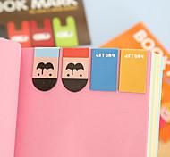 16PCS Cute Magnetic Bookmark Book Clip Random Color
