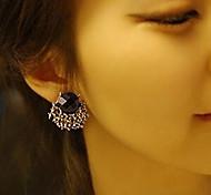 HUALUO®Gorgeous Diamond Gem Diamond Section Earrings