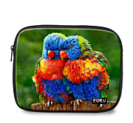 "For U Designs 10"" Parent-Child/Parrot Laptop Sleeve Case for Ipad"