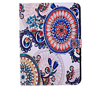 Magic Spider®Colorful Flower Leather Wallet Full Body Case with Screen Protector for Samsung Galaxy Tab 4 10.1 T530