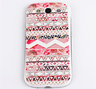 Pink Flower Pattern TPU for Samsung S3 I9300