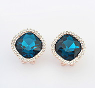 Hot Sale For 2015 Free Shipping European And American Style Big Box Star Fashion Ear Buckle Earrings