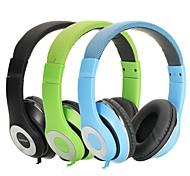 dj estéreo ausdom sobre fones de ouvido fones de ouvido de 3,5 mm para fone de ouvido da orelha mp3 ipod iphone