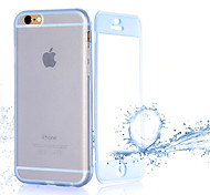 Transparent Flip Free Turn Touch TPU Phone Case for iPhone 6S/6 Plus(Assorted Colors)