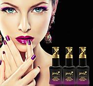Newest Popular Top Fashion 15ML Light Change Soak-off UV Color  Gel Polish (Assorted Colors)