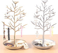 Bird And Tree Shape Earing Stand(Bronze/Old Bronze/Old Silver)(1Pc)