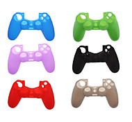 Silicone Protective Skin for PS4 Game Controller (Assorted Colors)
