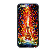 Personalized Design Fashion Technology Aperture For Iphone6 4.7Inches Case 2D PC Hard Black