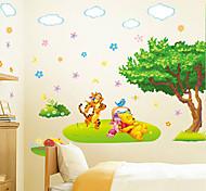 Cartoon Winnie The Pooh Tiger PVC Wall Sticker Wall Decals