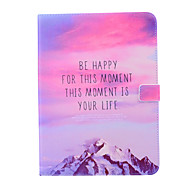 Magic Spider®Be Happy Leather Wallet Full Body Case with Screen Protector for Samsung Galaxy Tab 4 10.1 T530