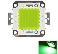 diy 50w verde cor de chips lâmpada de poupança de energia de alta potência levou módulo (dc30-36v)