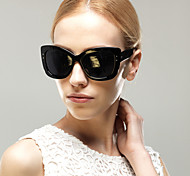 Sonnenbrillen mujeres's Elegant / Modern / Modisch überdimensional Schwarz / Kaffee / Rot / Leopard Sonnenbrillen Vollrandfassung