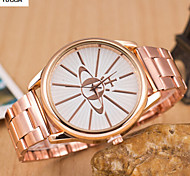 Lady'S Quartz Swiss Alloy Watch Men And Women Fashion Deer Head Steel Band Watch