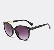 Sunglasses Women's Modern / Fashion Browline Black / Pink / Leopard / Transparent Sunglasses Full-Rim
