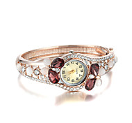 Sjeweler Girls Female Colorful Diamond Rose Gold Plating Bracelet Watch Cool Watches Unique Watches