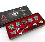 Schmuck Inspiriert von Assassin's Creed Connor Anime/ Videospiel Cosplay Accessoires Halsketten / Abzeichen / Broschen / Mehre Accessoires