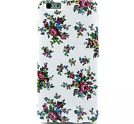 Floral Pattern TPU Soft Case for iPhone 6 Plus