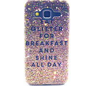 Shine Sand Pattern PC Hard Case forSamsung Galaxy Core Prime G360 G360H G3606 G3608 Back Cover