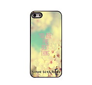 Personalized Gift You Are The Best Thing Design Aluminum Hard Case for iPhone 5/5S