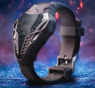 Men's LED Digital Silicone Strap Cobra Watch Iron Man Triangle Dial Sports Wristwatch Wrist Watch Cool Watch Unique Watch