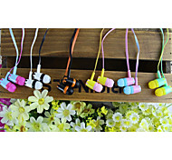 Stylish (Earbuds, In-Ear) 3.5mm Input Apply to Samsung iPhone 4/5S/6/6Plus HTC/Red Rice/Millet (Assorted Color)