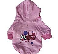 Dog Coats / Hoodies - XS / S / M / L - Winter - Pink - Cosplay - Cotton
