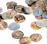 Lot 100 Mother of Pearl Round Shell Sewing Buttons 15mm