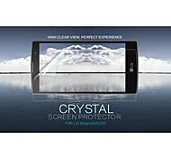 cristal nillkin filme protetor de tela anti-impressão digital clara para LG magna (h502f)