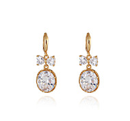 Women's Fashion High Quality  18K Gold Plated Earrings