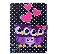 Magic Spider®Black Spot Leather Wallet Full Body Case with Screen Protector for Samsung Galaxy Tab 4 10.1 T530