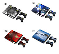 sesso pelle ragazza designer per playstation sistema PS3 Slim& telecomandi