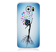 Slim Painted TPU Soft Back Case for Samsung Galaxy S6