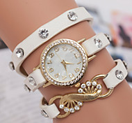 Women's Watches The Explosion Of Korean Fashion Women's Bracelet Watch Three Winding Watch
