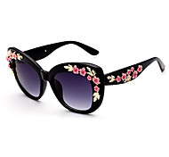 Sunglasses Women's Modern / Fashion Square Multi-Color Sunglasses Full-Rim