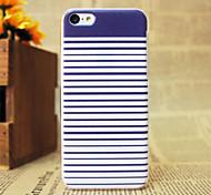 Blue Streak Pattern Hard Case for iPhone 5C