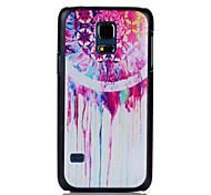 courir motif de l'eau impression noir dépoli matériel pc cas de téléphone pour le mini-samsung galaxy