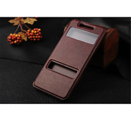 InternatiOnal Version Of The Pu Leather Specially Designed Body Open The Window For Vivo X3   (Assorted Color)