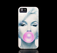 Marilyn Monroe Pattern Cover for iPhone 4 Case / iPhone 4 S Case