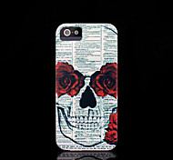 Skull Pattern Cover for iPhone 4 Case / iPhone 4 S Case