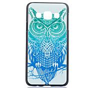 owl pattern pc caso duro para la galaxia a3