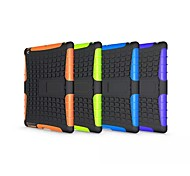 Tire Wave TPU and PC Back Case With Hold For Apple iPad 2 iPad 3 iPad 4(Assorted Color)