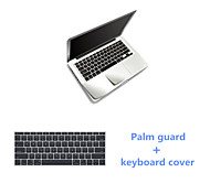 """Sliver Slim PalmGuard and TPU Keyboard Cover for Macbook Air 11.6"""" (Assorted Colors)"""