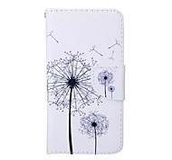 Dandelion Pattern PU Leather Phone Case For Samsung  Galaxy A3