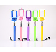 colorful extendable hand held monopod telescopic baton z07-1 for mobile phone camera