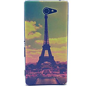 Transmission Tower Pattern PC Hard Case for Sony Xperia M2