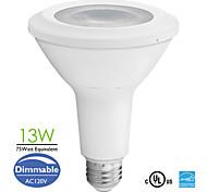 1 Stück Dimmbar Spot Lampen PAR E26 13 W 800 LM 2700-6500 K 1 COB Warmes Weiß/Kühles Weiß/Natürliches Weiß AC 110-130 V