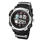 relógio de mostrador analógico-digital relógio eletrônico moda relógios de pulso esportivos mergulho resistente à água 50m (cores