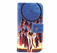 patrón de diseño de moda de la PU cuero y la ranura para tarjetas funda de teléfono celular para mini i9190 de Samsung s4