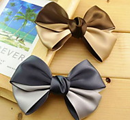Sunny Quality Ribbon Double Color Bow Hair Clip