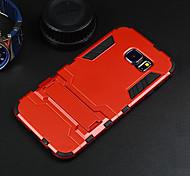 homem de ferro capa dura case protetor com kickstand para Samsung Galaxy S6